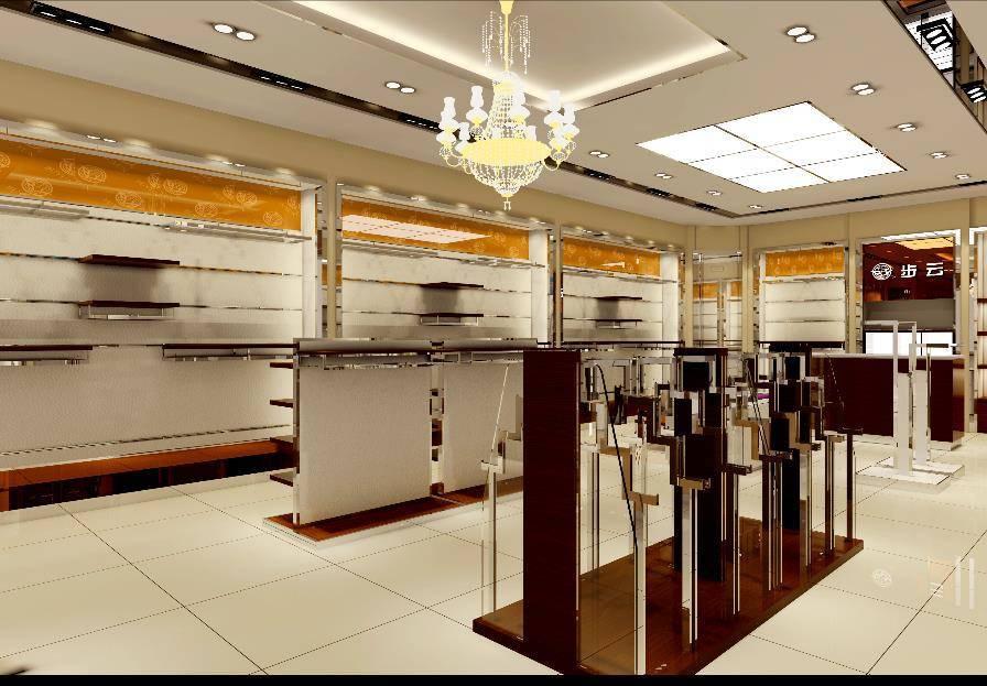 上海定制珠宝柜台-一站式定制服务