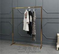 展示架厂家:不锈钢服装展示架