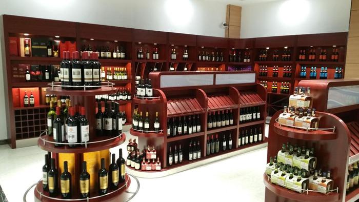 高档红酒展示柜定制生产