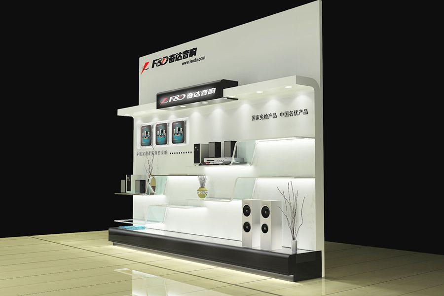 上海公司展柜